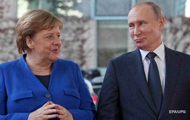 Меркель и Путин обсудили Северный поток-2