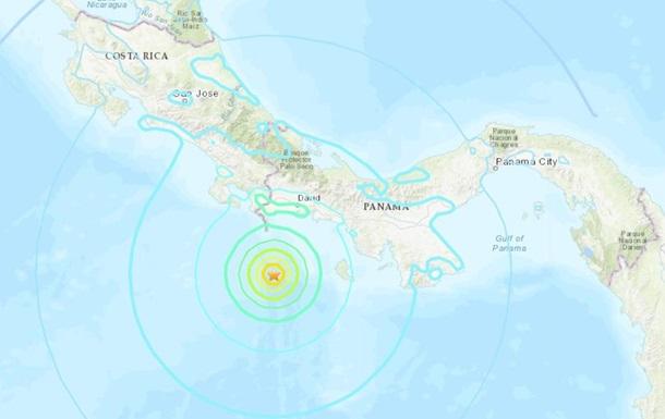 На кордоні Коста-Ріки і Панами зафіксували потужний землетрус