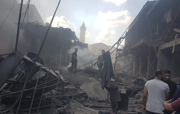 Взрыв в Газе