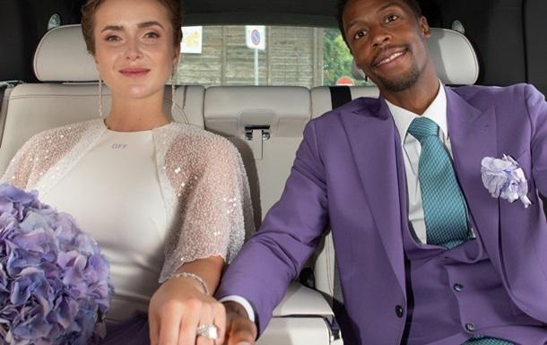Світоліна показала фотографії з весільної вечірки