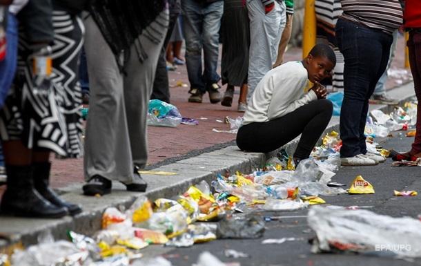 Внаслідок заворушень у ПАР загинули понад 300 осіб
