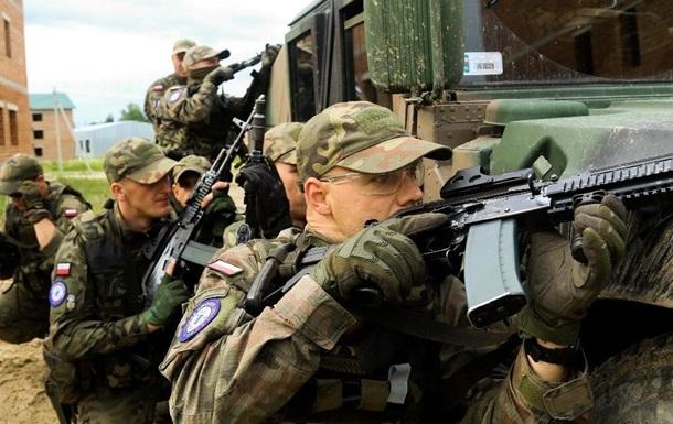 В Украине идут учения Три меча. Фоторепортаж