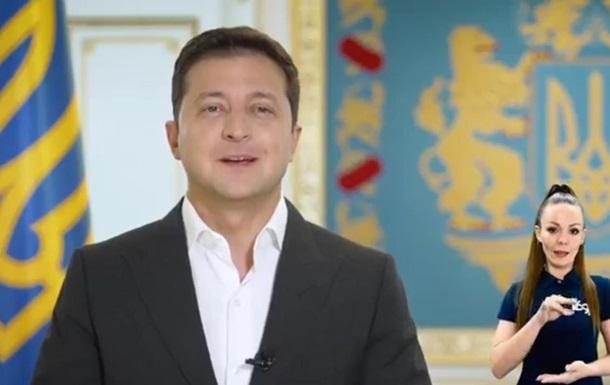 Зеленский обратился к украинским олимпийцам