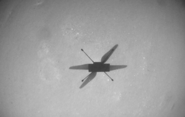 Вертоліт NASA пролетів рекордні півтора кілометра на Марсі