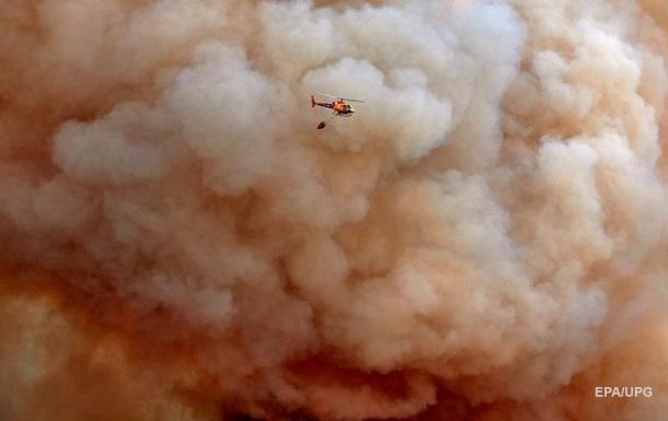 Лісові пожежі спалахнули в трьох регіонах Іспанії