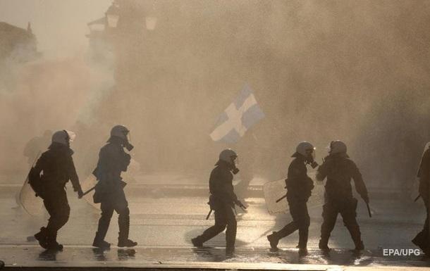 У Греції поліція розігнала протест антивакцинаторів