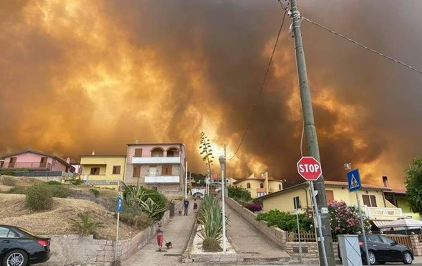 В Италии, Франции и Испании бушуют лесные пожары