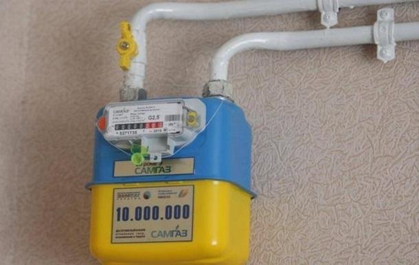 В Украине более двух миллионов потребителей не установили газовые счетчики