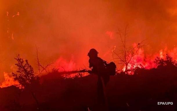 У США ліси охоплені вогнем у 12 штатах