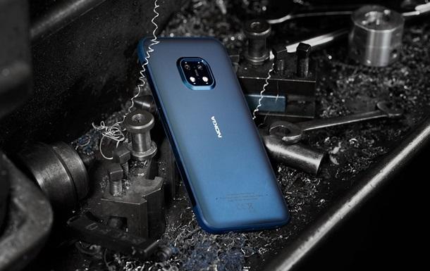 Представлен `неубиваемый` смартфон Nokia XR20