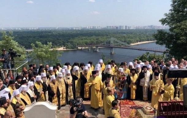 Молебень і хресна хода у Києві: онлайн