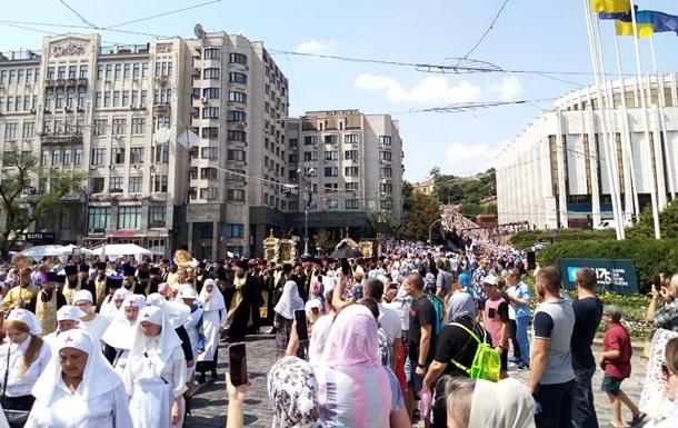 В УПЦ заявили про 350 тис. учасників хресного ходу