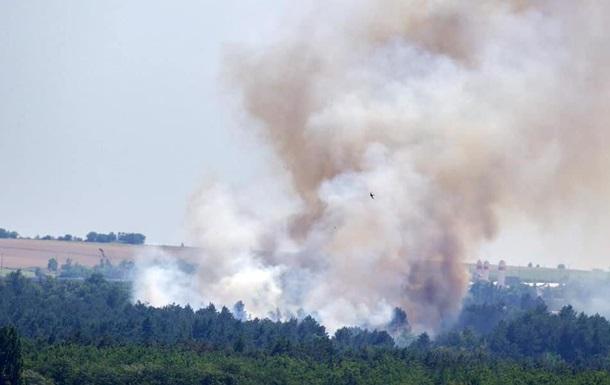 На Хортице произошел пожар, руководство заявило о поджоге