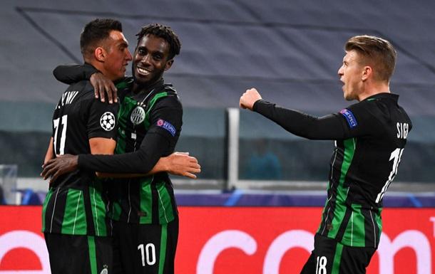 Ференцварош Харатина и Зубкова вышел в третий раунд квалификации Лиги чемпионов