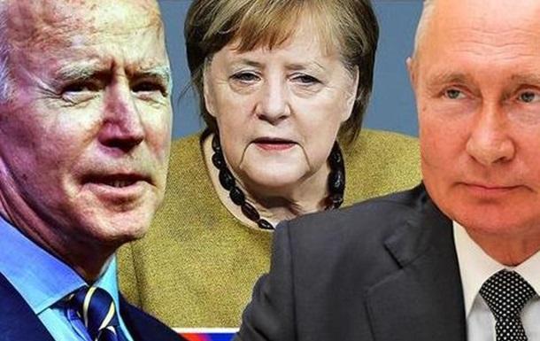 «Священний союз»: Байден-Путін-Меркель