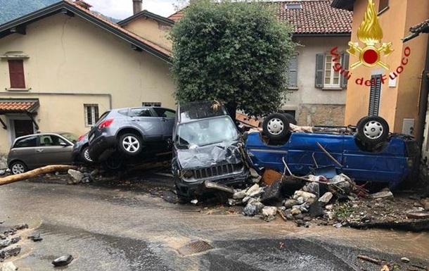 Север Италии пострадал от наводнения
