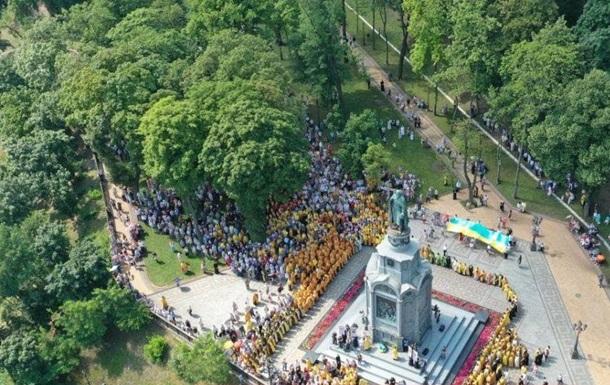 ПЦУ провела крестный ход в Киеве