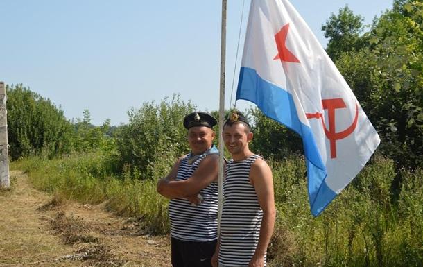 На мера міста Хорол завели справу через фото з радянським прапором