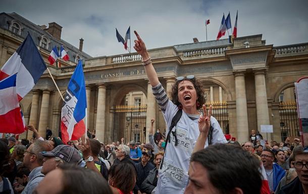 Диктатура здоровья. В ЕС прошли массовые протесты