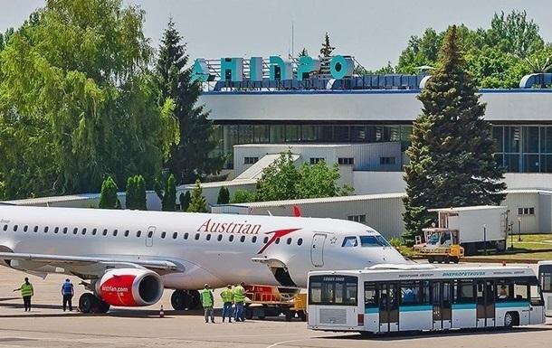 Контракт на будівництво аеродрому в Дніпрі розірвали