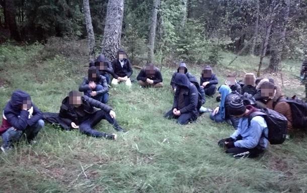 Литва затримала рекордну кількість нелегалів на кордоні з Білоруссю