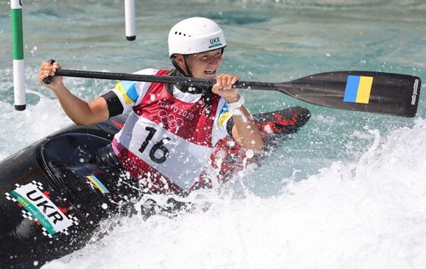 Ус показала лучший результат на Олимпиадах в истории Украины в гребном слаломе