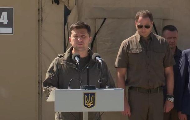 Зеленский представил новое командование Генштаба