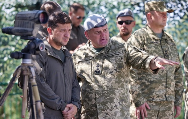 Зеленский посетил полигон ССО на Житомирщине