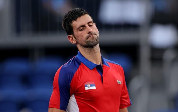 Джокович не зміг пробитися у фінал Олімпіади, програвши Звєрєву