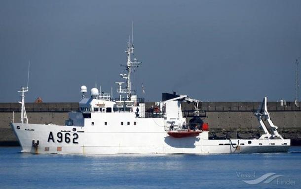 Украина получит от Бельгии судно для мониторинга морей