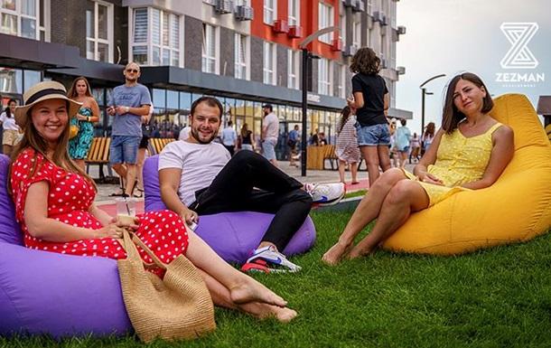 Комфорт без двора-парковки и безопасность без забора: в Одессе строят необычный город в городе