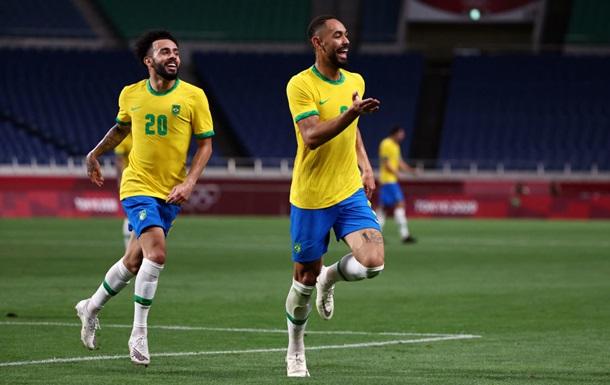 Бразилия вышла в полуфинал Олимпиады, обыграв Египет