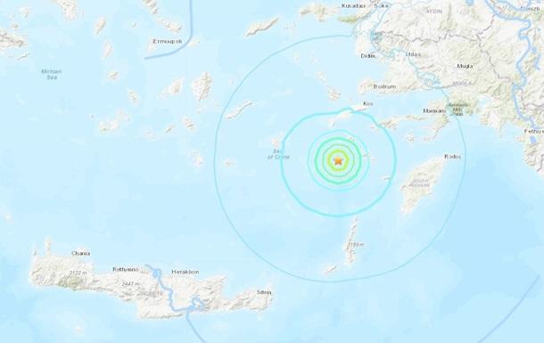 Біля берегів Греції стався сильний землетрус