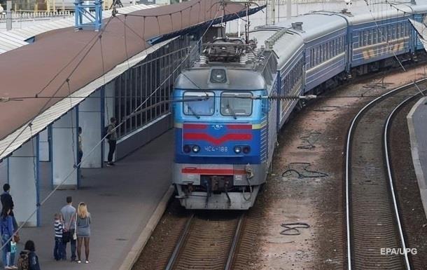 В Украине из-за непогоды задерживаются поезда