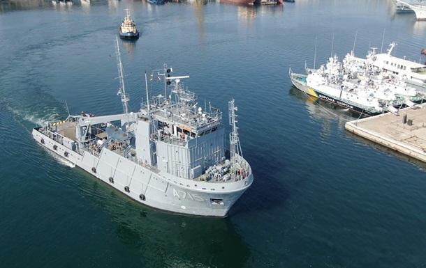 Подразделение ВМС ВСУ прибыло на учения в Румынию