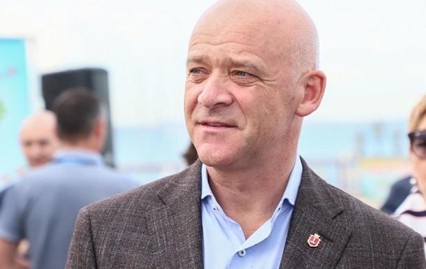 Труханов дал старт открытию движения по улице Екатерининской в Одессе
