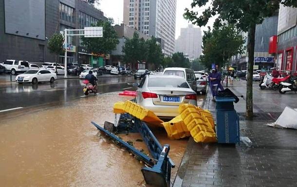 В Китае возросло количество жертв наводнений