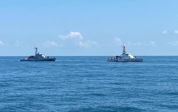 Україна і Грузія провели навчання в Чорному морі