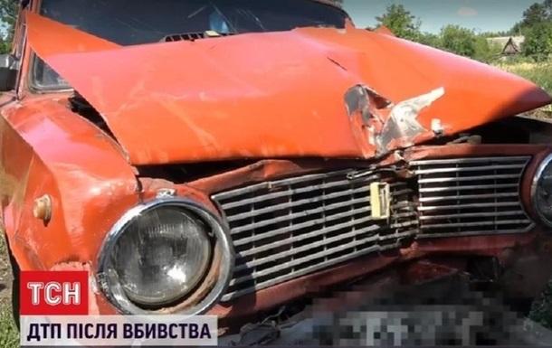 Житель Житомирщины убил отца и на угнанном авто с дочерьми устроил ДТП