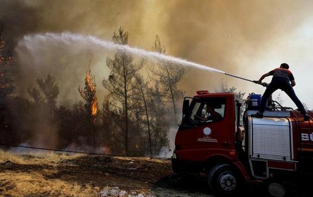 Туреччина отримає допомогу ЄС для боротьби з лісовими пожежами