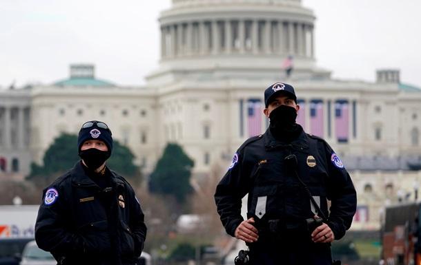 В США покончил с собой четвертый полицейский, защищавший Капитолий