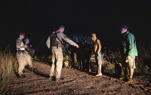 Литовські прикордонники повернули до Білорусі десятки нелегальних мігрантів