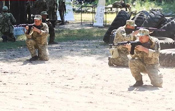 Військові показали, як проходять збори територіальної оборони