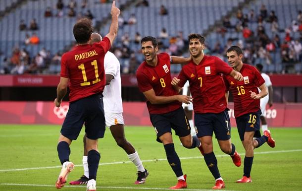 Гол Асенсио вывел сборную Испании в финал Олимпийских игр