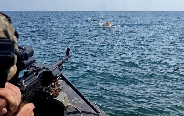 Спецназівці провели навчання на морі в екстремальних умовах
