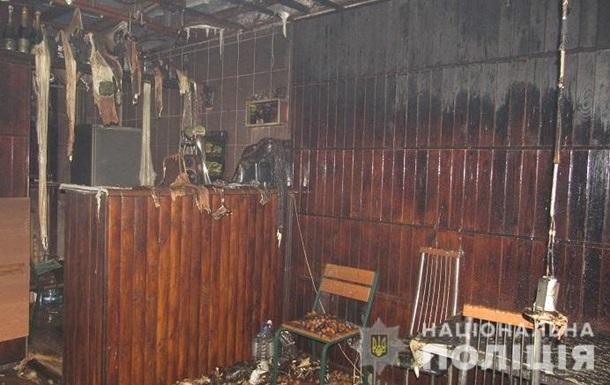 В Киеве недовольный посетитель поджег кафе