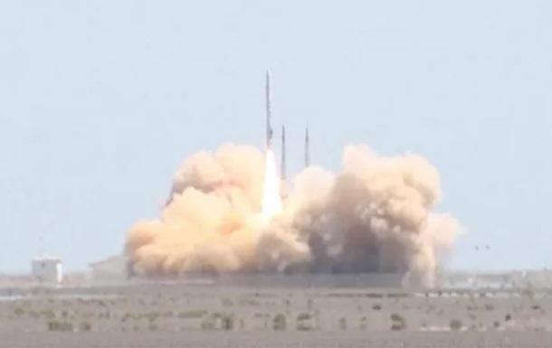 В Китае разбилась частная ракета Hyperbola-1