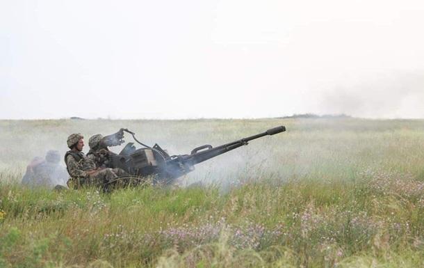Доба в ООС: дев ять обстрілів, проліт БПЛА