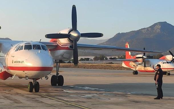 Авиация ГСЧС помогает тушить пожары в Турции