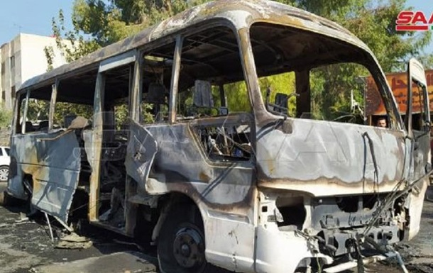 У Сирії вибухнув автобус з військовими - ЗМІ